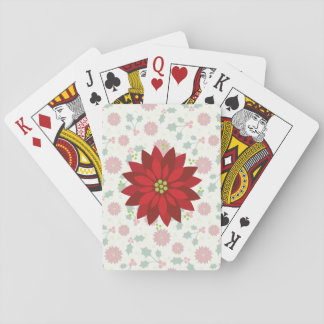 Holly Holiday playing cards