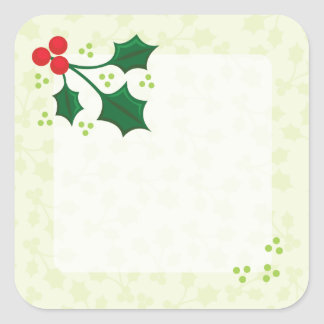 Holly Holiday stickers