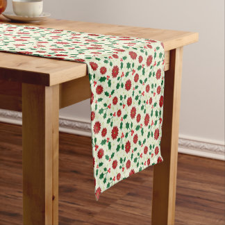 Holly Holiday table runner