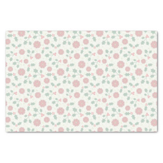 Holly Holiday tissue paper