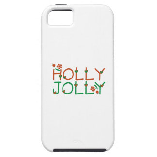 Holly Jolly iPhone 5/5S Cases