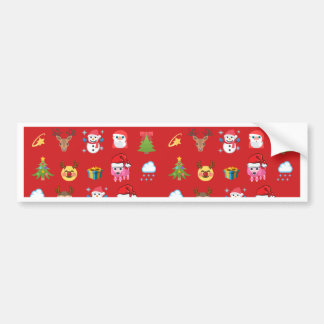 Holly Jolly Emoji Sticker