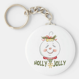 HOLLY JOLLY KEYCHAINS