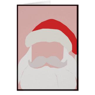 Holly Jolly Santa Card