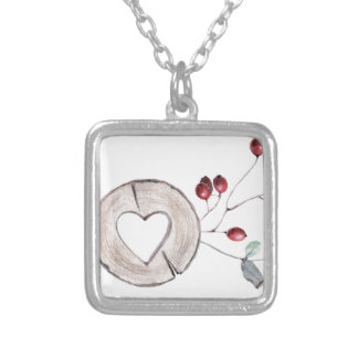 Holly Jolly Silver Plated Necklace