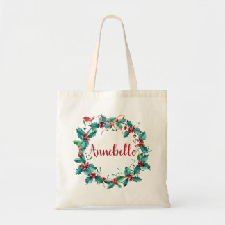 Holly Jolly Tote Bag