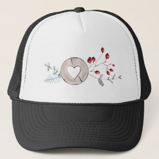 Holly Jolly Trucker Hat