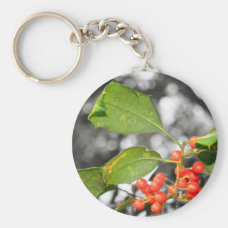 holly keychains
