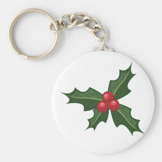Holly Key Ring
