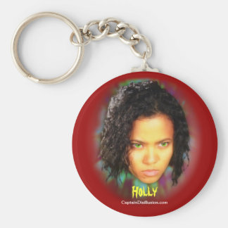 Holly Keychain