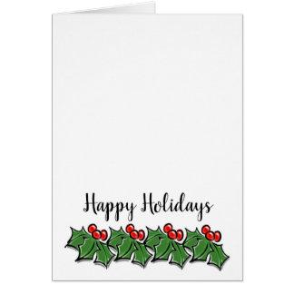 Holly Lane - Happy Card