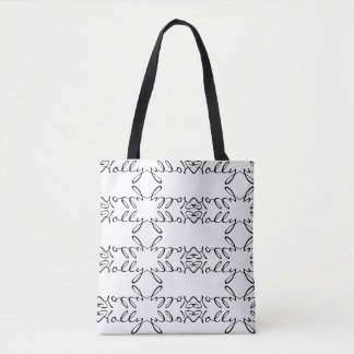 """""""Holly"""" Personalized Tote Bag"""