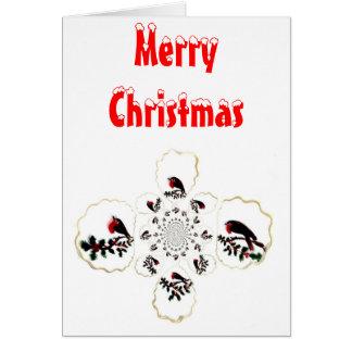 Holly Robin Festive Fun Greeting Card