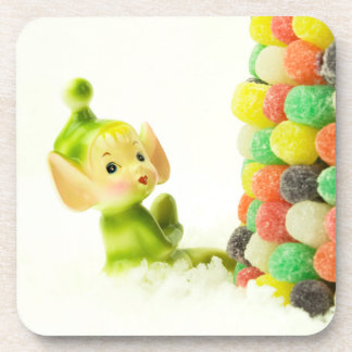 `Holly the Pixie Elf Coaster