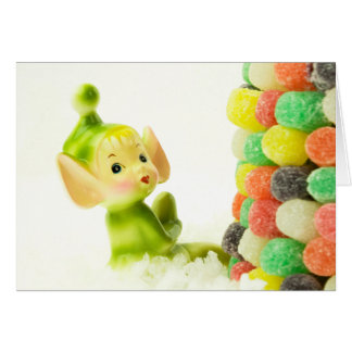 Holly the Pixie Elf Note Card