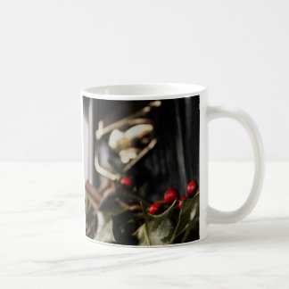 Holly Wreath Coffee Mug