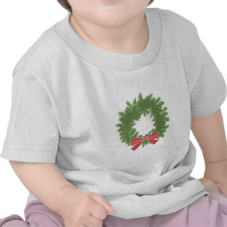 Holly Wreath T-shirts