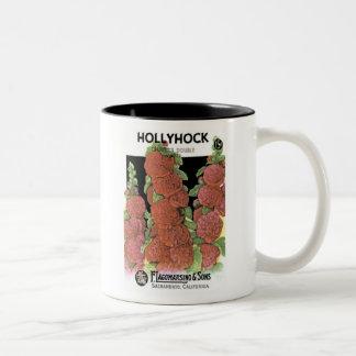 Hollyhock, F. Lagomarsino & Sons Mugs
