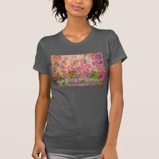 Hollyhocks Garden T-Shirt