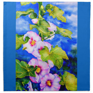 Hollyhocks Napkins
