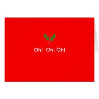 hollyleaf, Oh!  Oh! Oh! Card