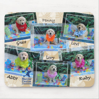 Holly's Half Dozen Luau Mousepad