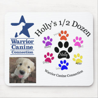 Holly's Half Dozen mousepad