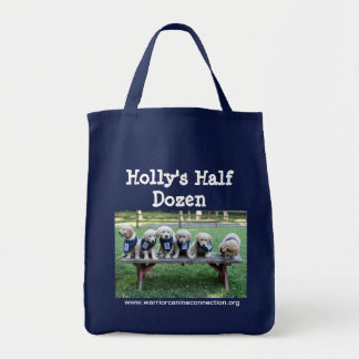 Holly's Half Dozen uniform group Grocery Tote Bag