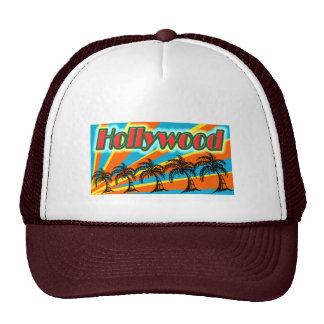 Hollywood 5 Palm Trees Hat