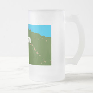 hollywood beer mug