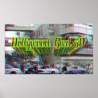 Hollywood Blvd 3D Poster