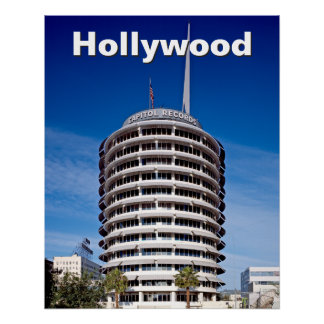 Hollywood Boulevard Capitol Records