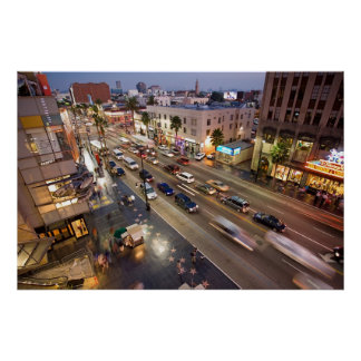 Hollywood Boulevard Los Angeles poster FROM 8.99
