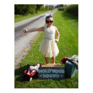 Hollywood Bound Postcard