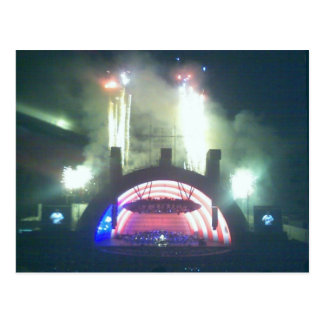 Hollywood Bowl on the Fourth Postcard