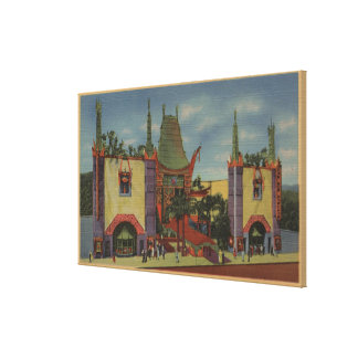 Hollywood, CAGrauman's Chinese Theatre View Stretched Canvas Prints