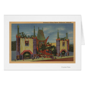 Hollywood, CAGrauman's Chinese Theatre View Greeting Cards