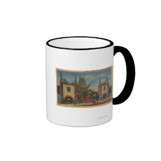 Hollywood, CAGrauman's Chinese Theatre View Mugs