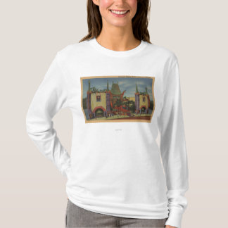 Hollywood, CAGrauman's Chinese Theatre View T-Shirt