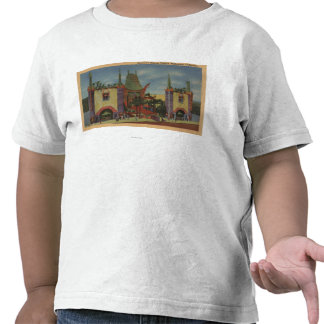 Hollywood, CAGrauman's Chinese Theatre View Tee Shirts