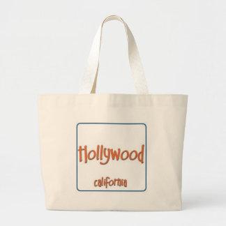 Hollywood California BlueBox Tote Bag