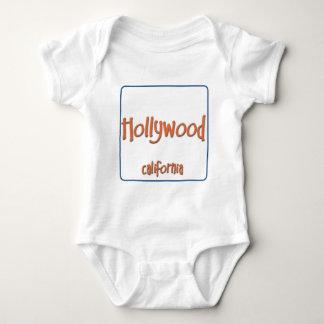 Hollywood California BlueBox Tshirt