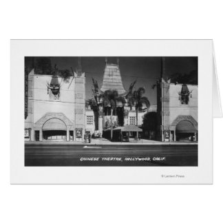 Hollywood, California Chinese Theatre View Cards