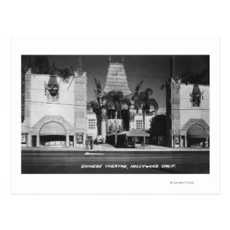 Hollywood, California Chinese Theatre View Post Cards