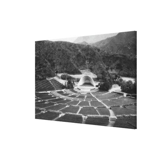 Hollywood, California Hollywood Bowl View Canvas Prints