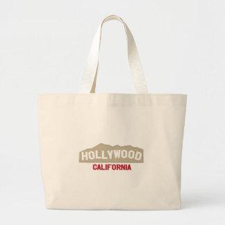 Hollywood California Jumbo Tote Bag