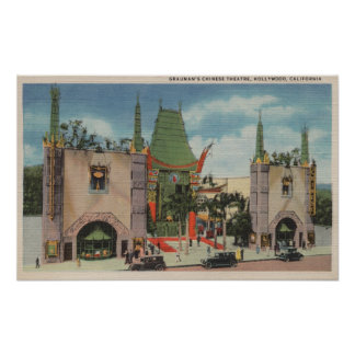 Hollywood, CAView of Grauman's Chinese Theatre Posters
