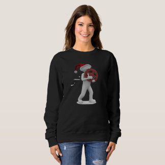 hollywood christmas womens sweatshirt