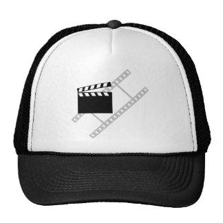 hollywood film clapper hat