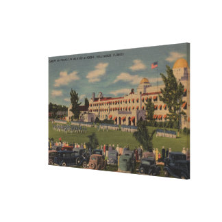 Hollywood FL - Cadet Parade at Military Academy Stretched Canvas Prints